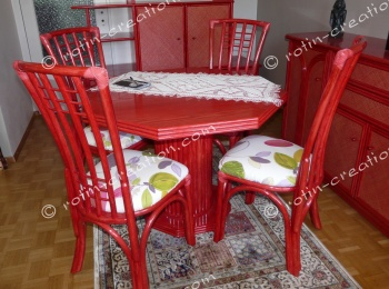 Table LISSAC avec 1 allonge